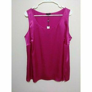 Talbots pink top